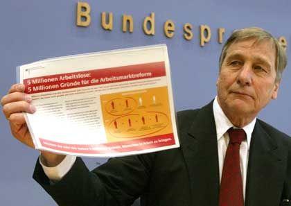 Wolfgang Clement: Steuersenkungspläne vom Kanzler kassiert