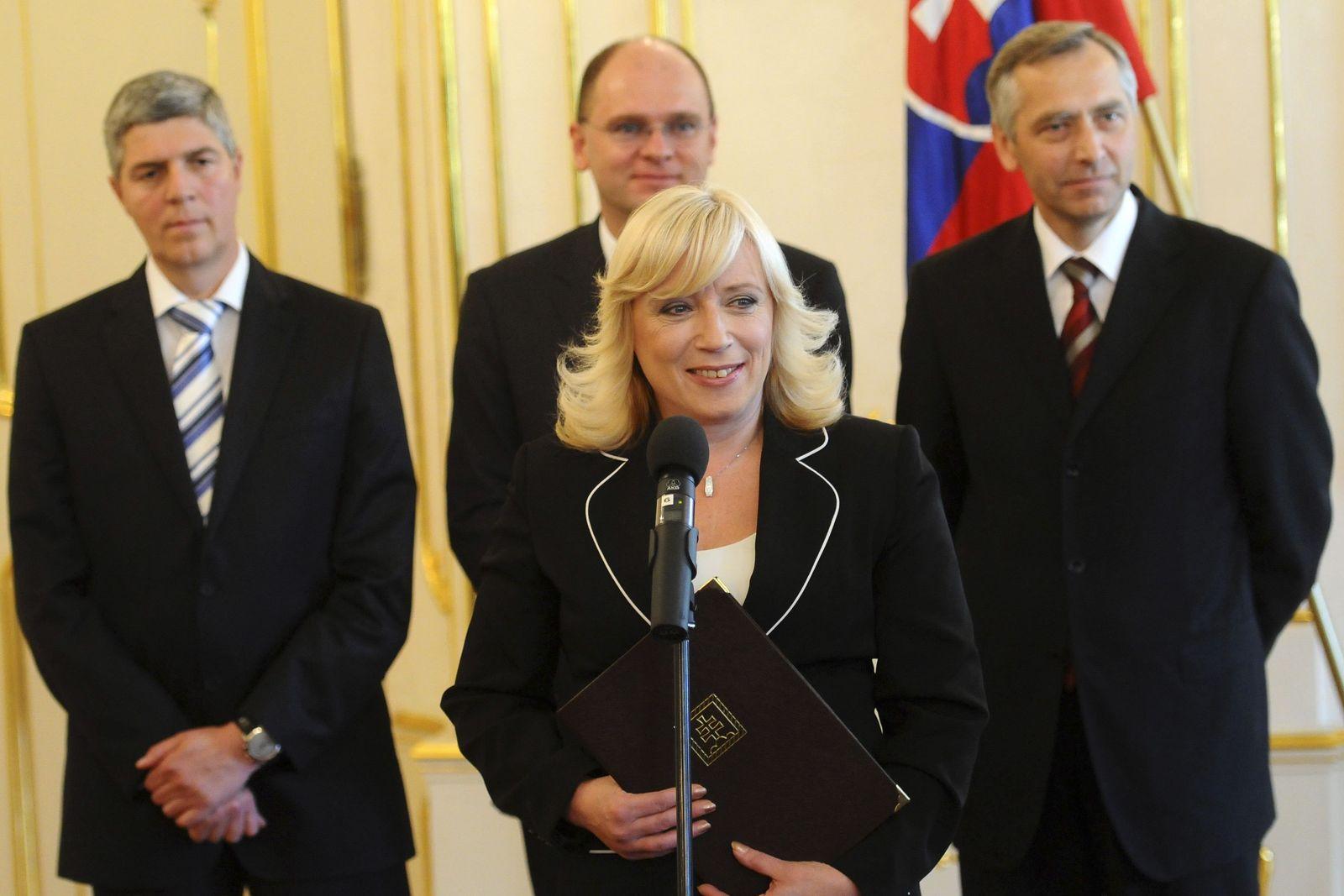 Slowakei Radicova