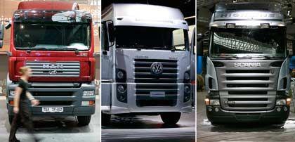 Will das Lastwagengeschäft noch in diesem Jahr stärken: Volkswagen-Aufsichtsratschef Piëch plant Offensive