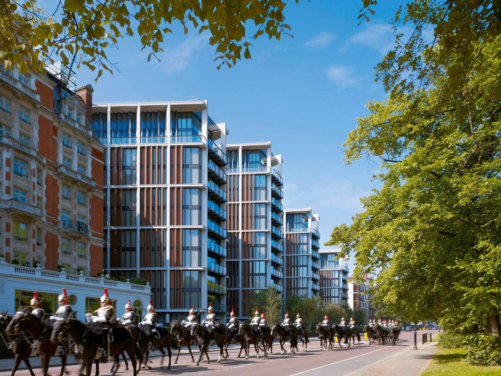 One Hyde Park, Knightsbridge / Neubau