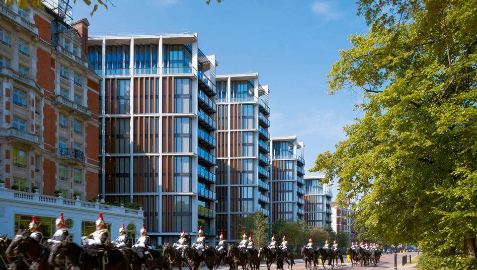 One Hyde Park im Londoner Stadtteil Knightsbridge: Für den Preis einer vier Quadratmeter großen Besenkammer könnte man in Deutschland ein ganzes Haus bauen