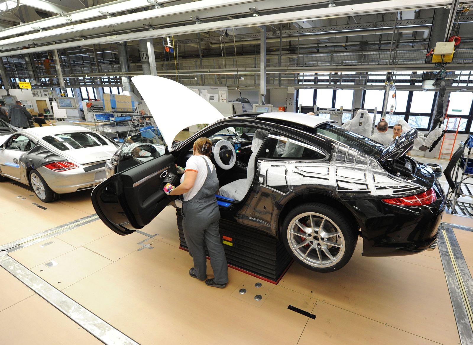Porsche Produktion / Werk / Fabrik