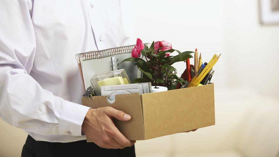 Packen nach der Kündigung: Langjährige Mitarbeiter genießen längere Kündigungsfristen - aus gutem Grund, ist das Bundesarbeitsgericht überzeugt