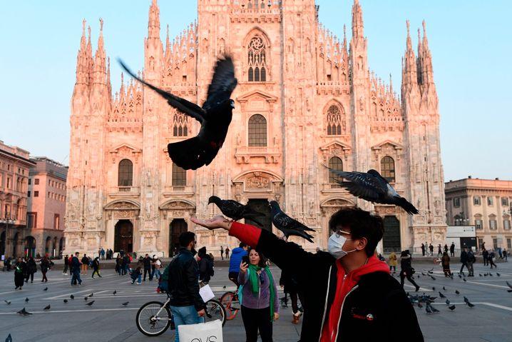 Mailand im Zeichen des Coronavirus