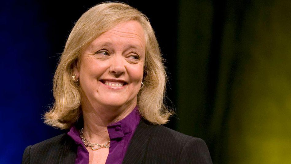 HP-Chefin Whitman: Kosten höher als der Nutzen