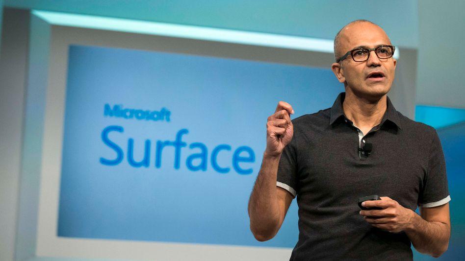 Microsoft-Chef Nadella: Seit der Nokia-Übernahme beschäftigt Microsoft weit mehr Mitarbeiter als Apple und Google