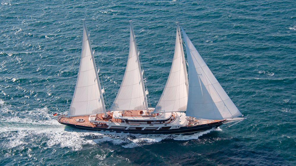 """""""Boote exklusiv""""-Ranking: Die Top Ten der längsten Segelyachten der Welt"""