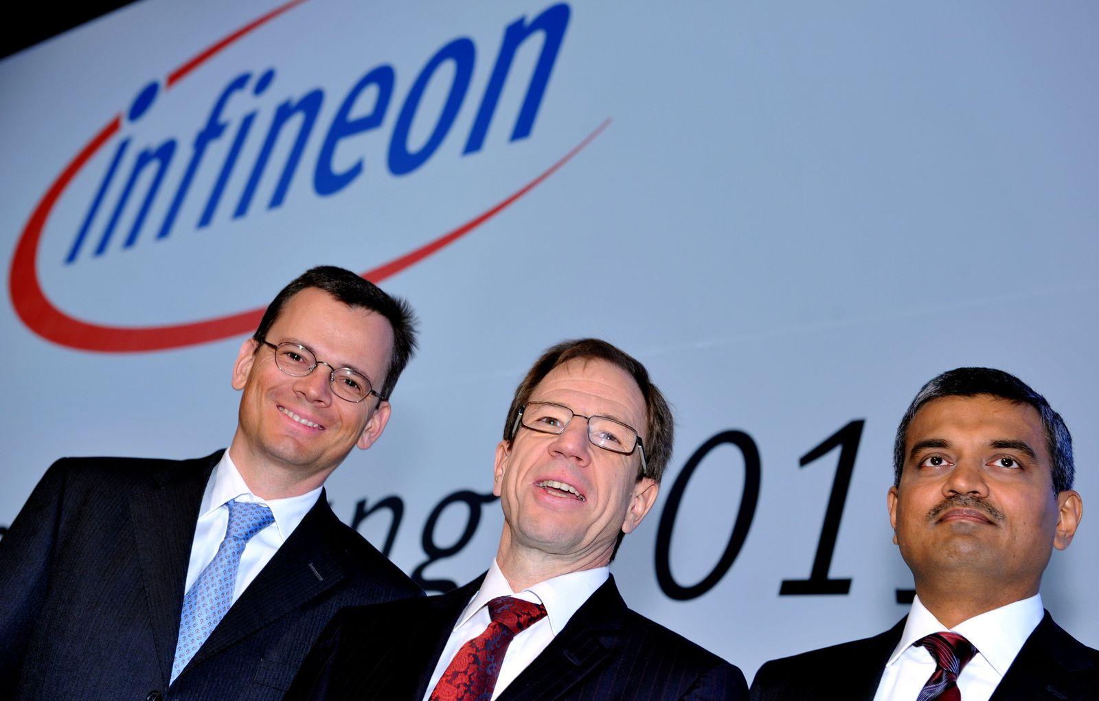 Infineon Hauptversammlung / Vorstand