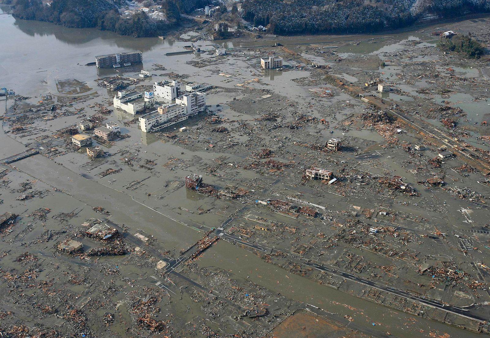 Japan Erdbeben Samstag