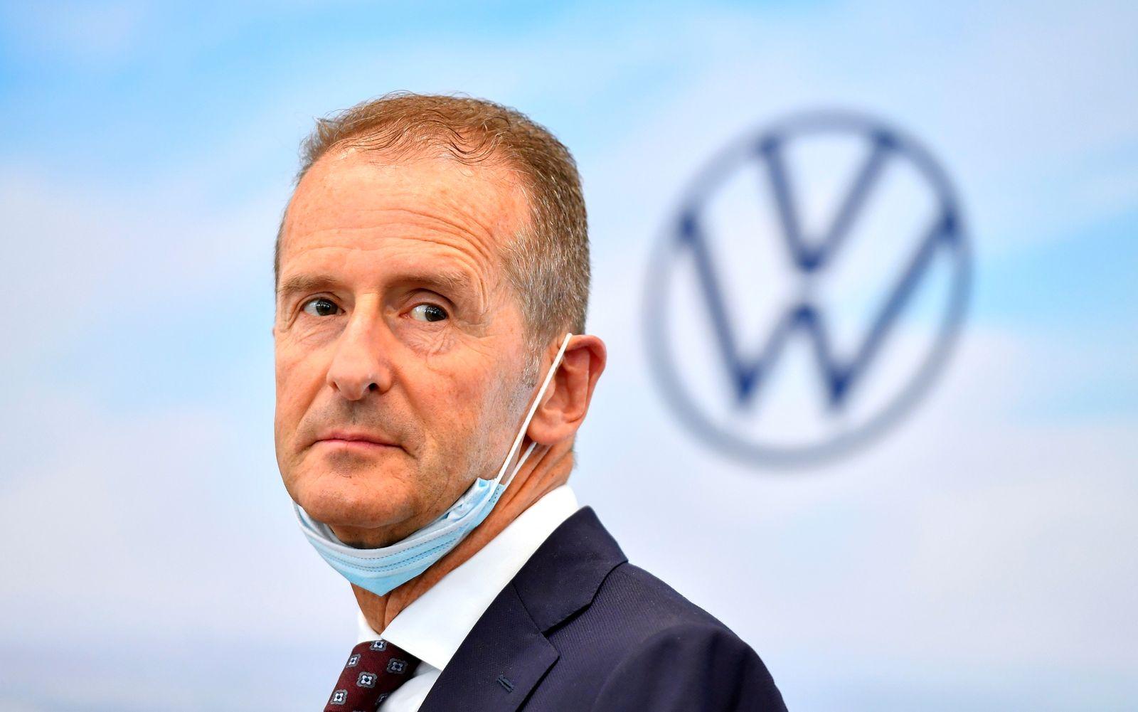 German President Frank-Walter Steinmeier visits Volkswagen plant in Zwickau