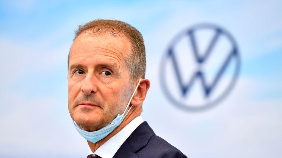 """""""Das werden wir spüren"""": Volkswagen-Chef Herbert Diess"""