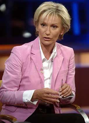 Unterlegen: Im Honorarstreit mit ihrem früheren Ehemann zog TV-Moderatorin Sabine Christiansen den Kürzeren