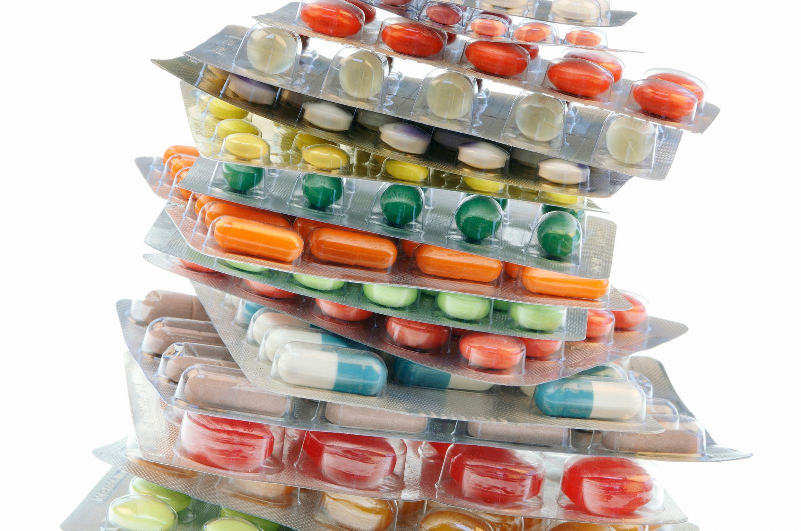 NICHT MEHR VERWENDEN! - Tabletten/ Pillen/ Medikament
