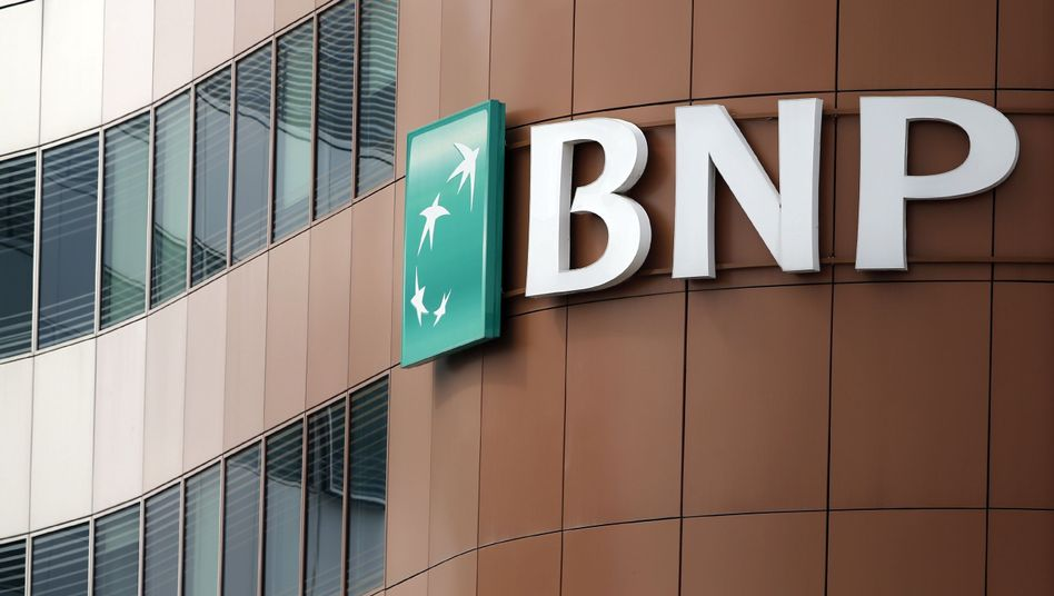 BNP Paribas bei Paris: Die französische Bank soll US-Handelssanktionen umgangen haben
