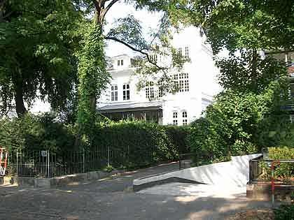 Mondän: Falks Villa in Hamburg