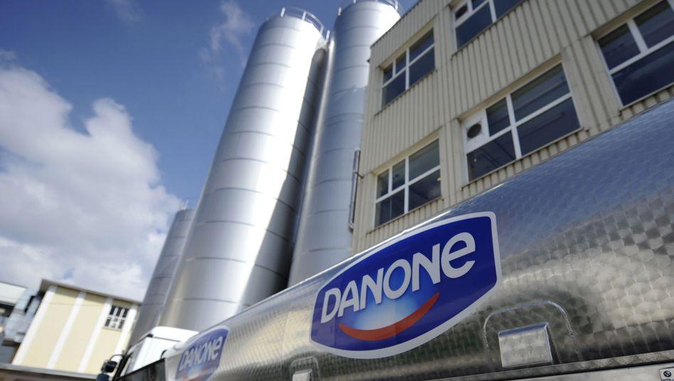 Danone-Werk in Rosenheim: Ärger um Joghurtbecher