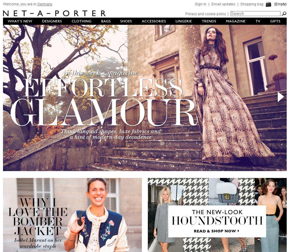 Screenshot / Net-a-porter