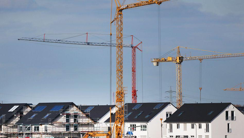 Neubaugebiet: Die Forscher kritisieren das Baukindergeld