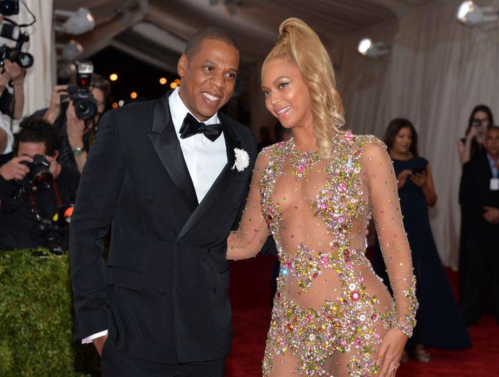 Power Couple: Jay Z mit Ehefrau Beyoncé (Archivaufnahme)