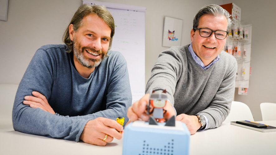 Börsengang per Spac: Die Boxine-Gründer Marcus Stahl (rechts) und Patric Faßbender