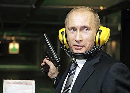Machtpolitiker: Präsident Putin