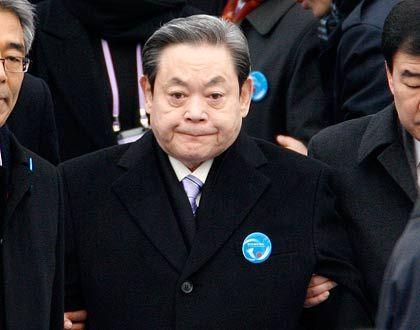 Bestreitet die Vorwürfe: Samsung-Chef Lee