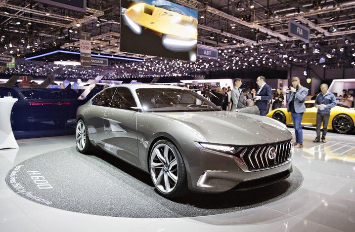 Hybrid Kinetic Group H600: Der bullige Look stammt von der italienischen Designschmiede Pininfarina