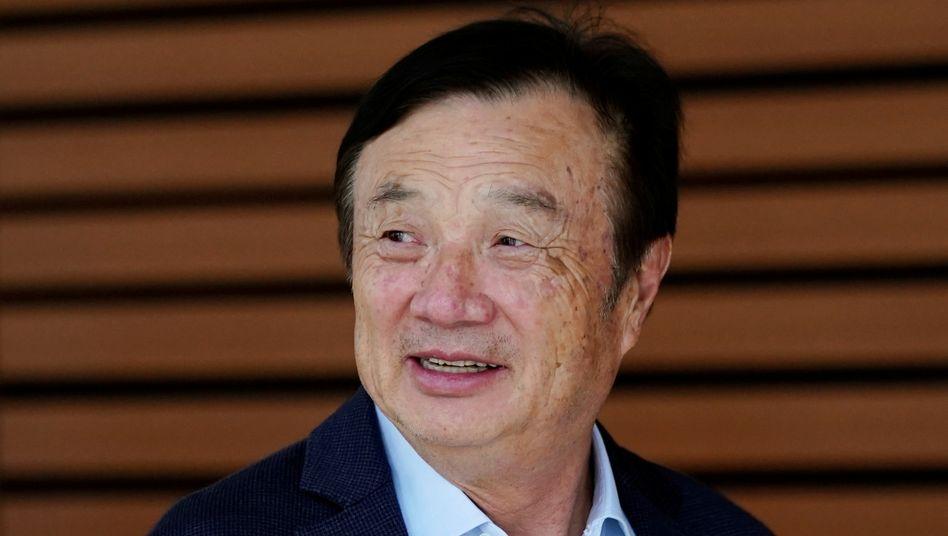 Win-Win-Deal, politisch und ökonomisch: Huawei-Gründer Ren Zhengfei.