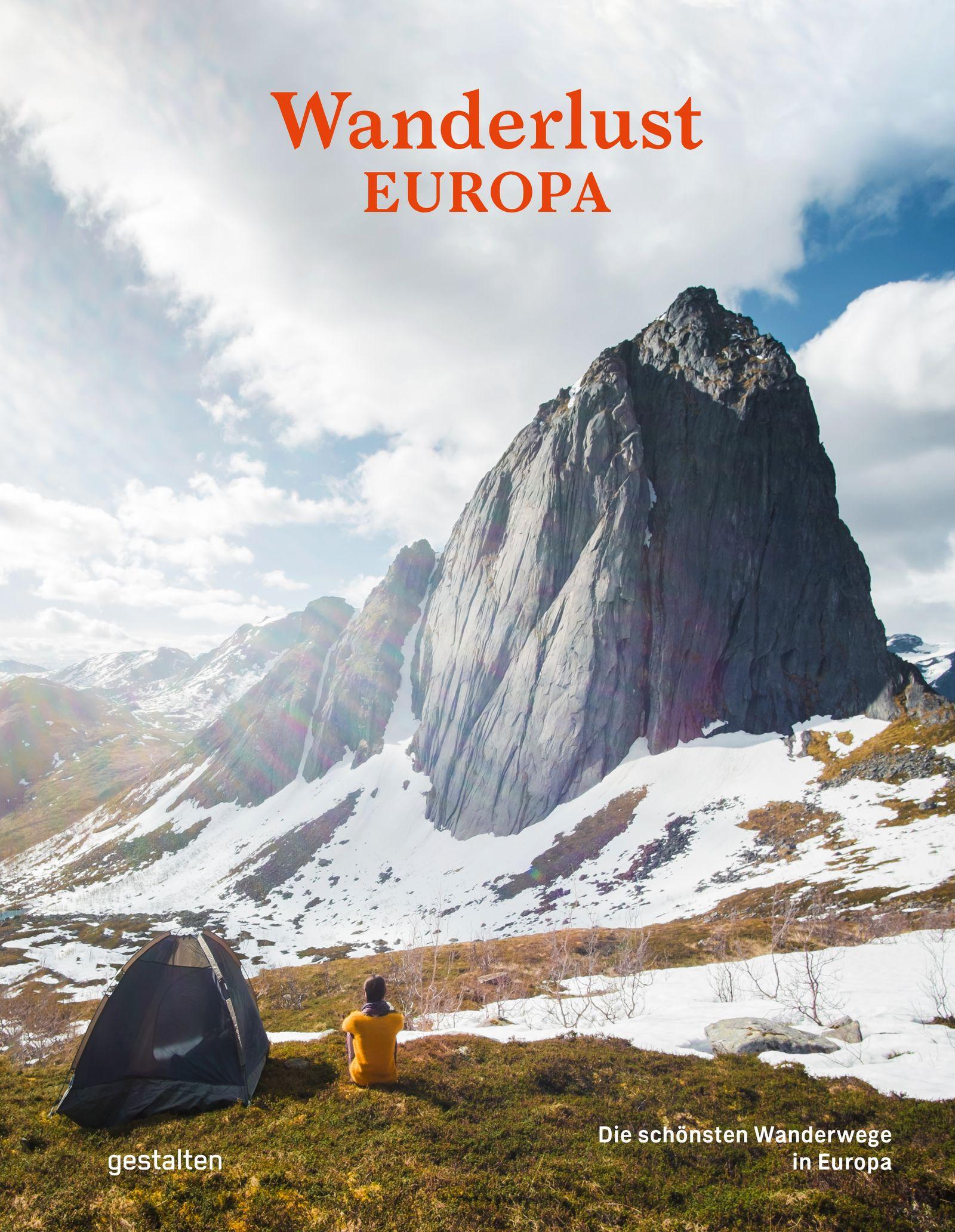 Cover Buch Wanderlust Europa gestalten 2020