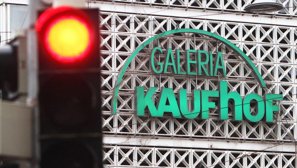 Kein Weiterkommen: Galeria Karstadt Kaufhof rutschte in die Pleite.