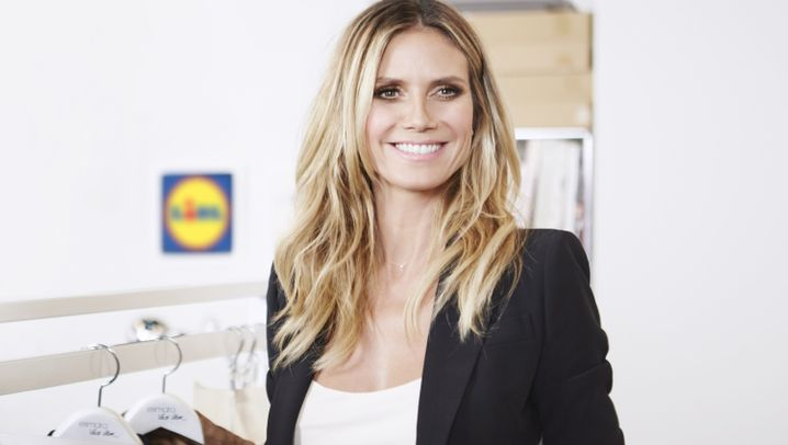 Model im Geschäftsmodus: Das kleine Imperium der Heidi Klum