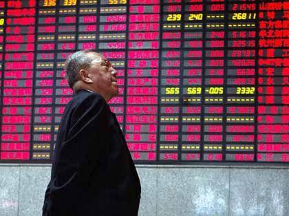 Börse in China: Übernahmewelle durch chinesische Firmen befürchtet.