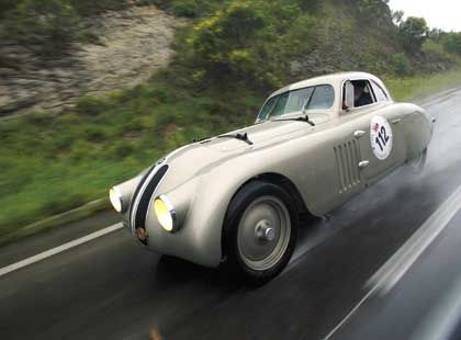 """Mille Miglia""-Gast: BMW 328 Touring Coupé"