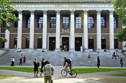 Harvard-Bibliothek: Sallie Mae ist wichtigster Gläubiger der Studenten in den USA