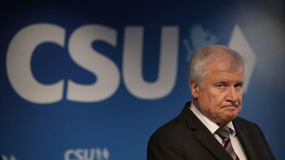 Horst Seehofer nach der bayerischen Landtagswahl im Oktober 2018
