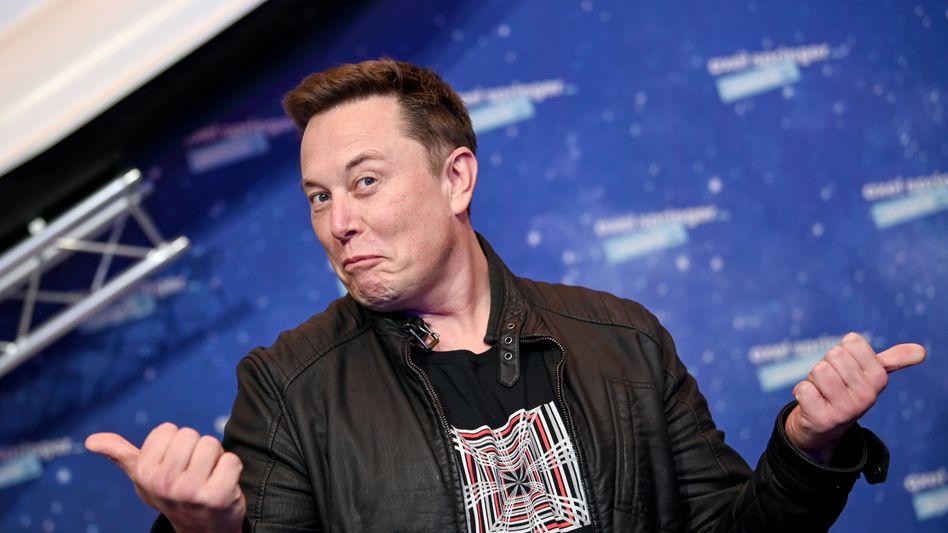 Über ihm ist niemand mehr: US-Unternehmer Elon Musk ist nun reichster Mensch der Welt laut dem Bloomberg-Reichsten-Ranking