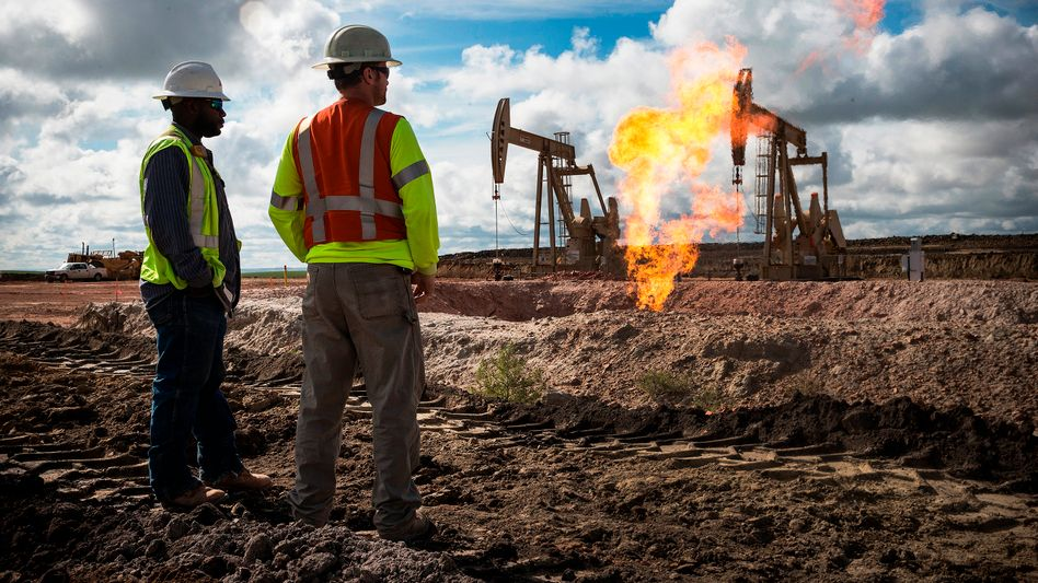 """Williston: Das Fracking-Eldorado in der Prärie North Dakotas - und Namensgeber für die eine Flasche Öl, die """"Bloomberg""""-Reporterin Tracy Alloway tatsächlich kaufen konnte"""