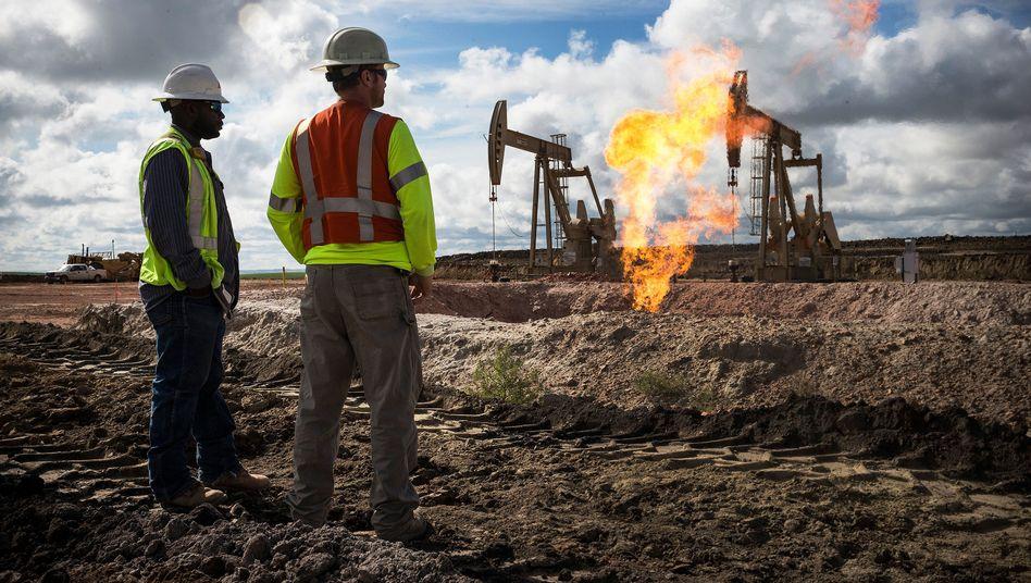 Ölförderung in North Dakota (Archivbild): Manche Ölsorten sind angesichts des Preisverfalls nahezu fast wertlos