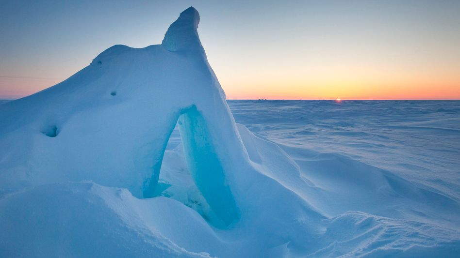 Rohstoffreich: Die Erdölsuche in der Arktis ist auch aus ökologischen Erwägungen umstritten