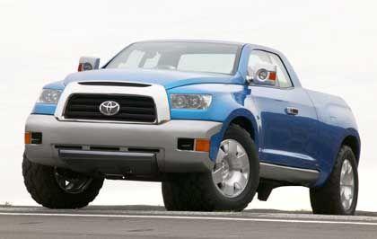 Bullig gezeichneter Lifestyle-Laster: Toyota FTX