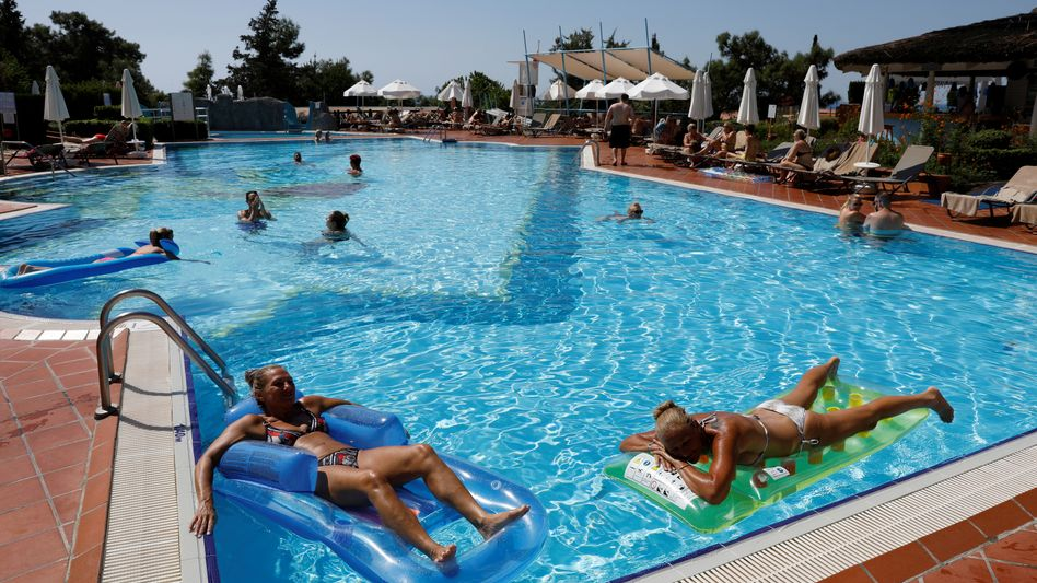 Thomas-Cook-Anlage in der Türkei: Offene Rechnungen, und viele Gäste kommen jetzt wegen der Pleite nicht mehr.