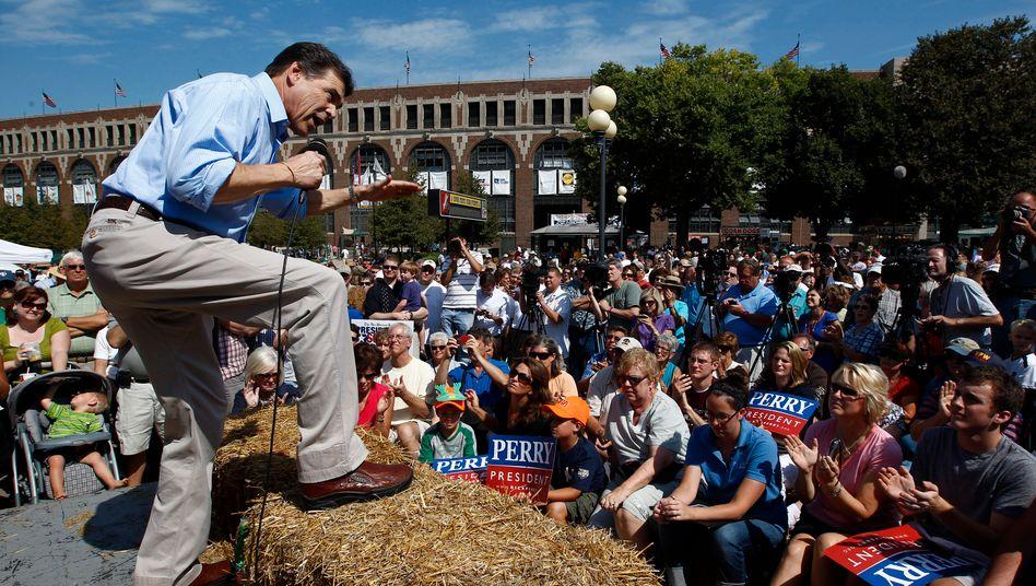 Texas-Gouverneur Rick Perry: Beten für Regen