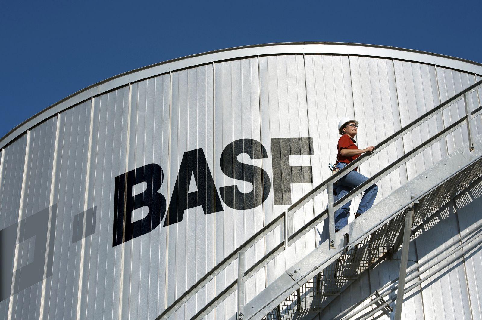 BASF-Industrieanlage in Texas