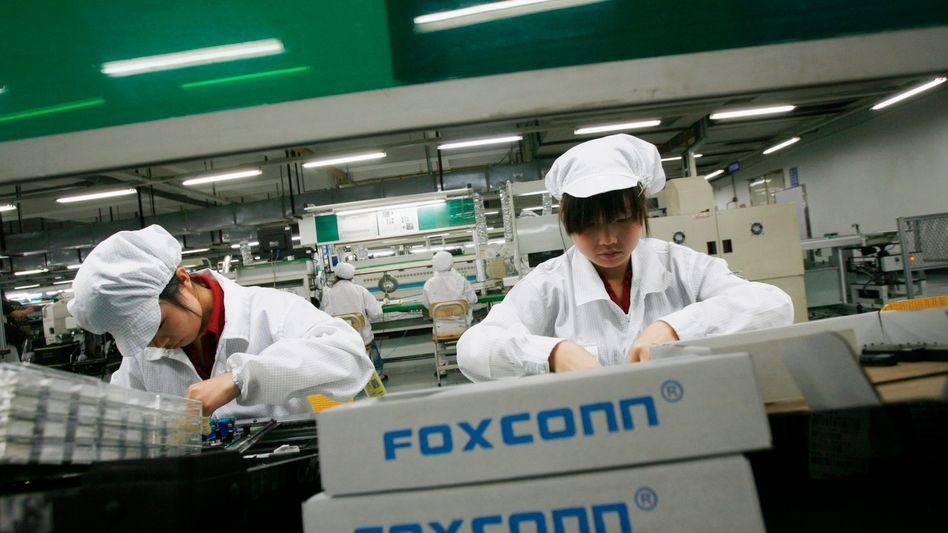 Foxconn überleget angeblich eine neue Fabrik in China wieder zu verkaufen