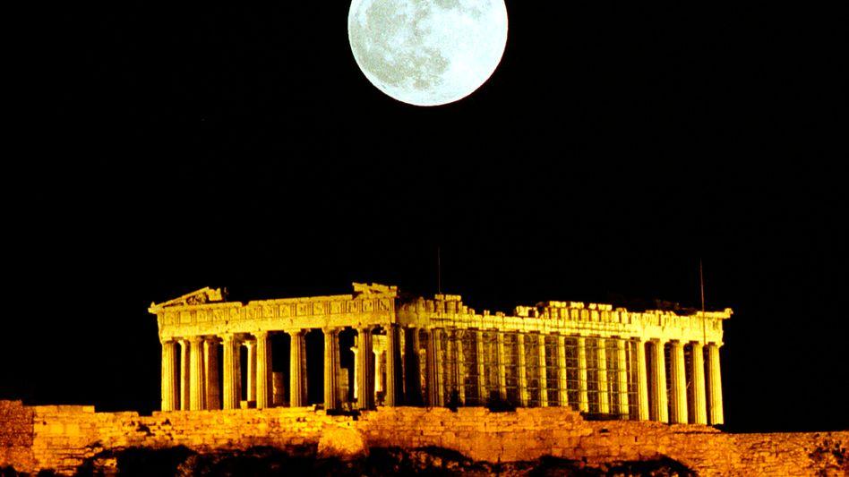 """Akropolis in Athen: """"Sorge, dass die Eurozone auseinanderbricht, ist weit übertrieben"""""""