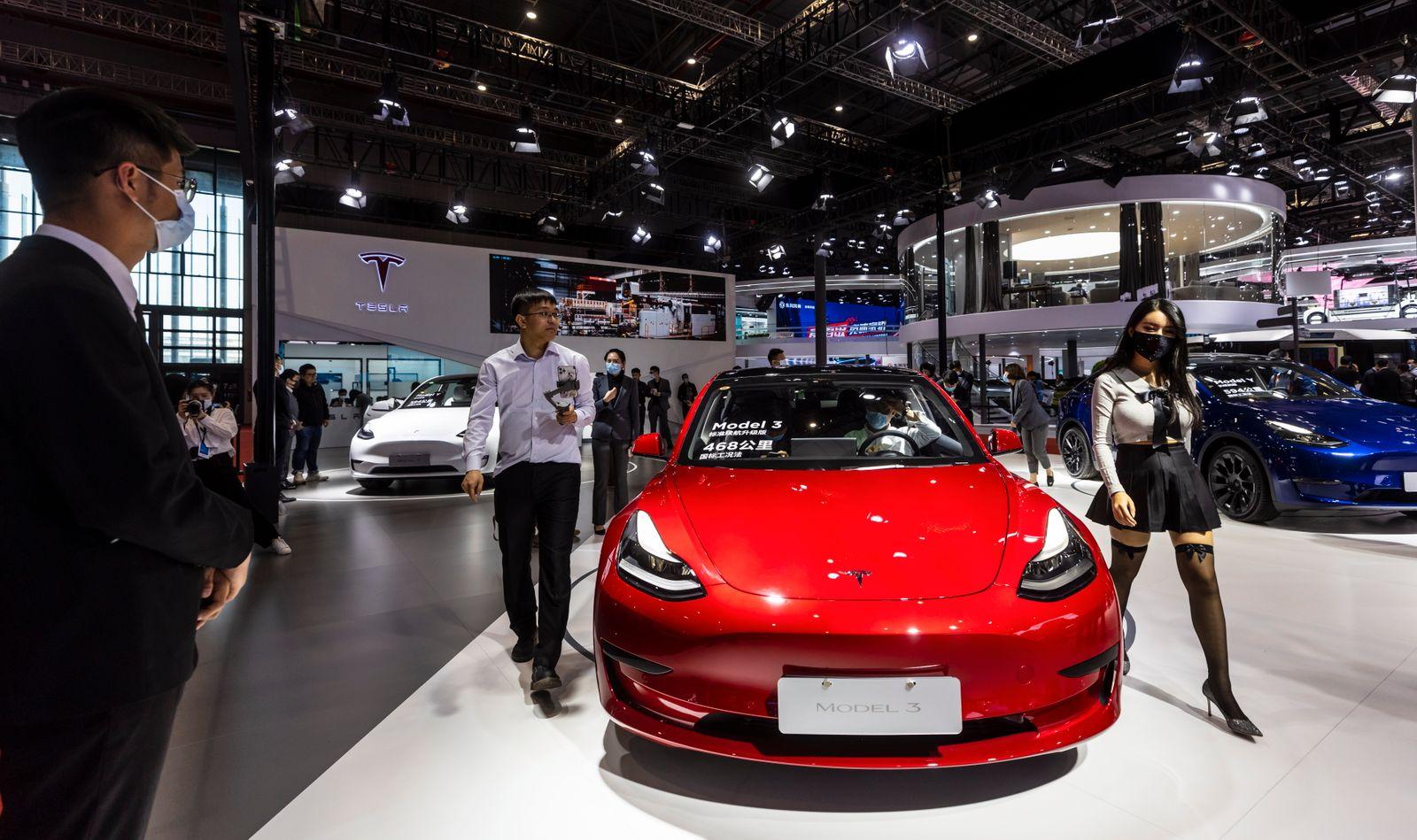 Auto Shanghai 2021 motor show