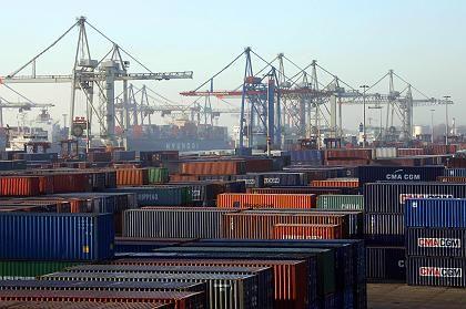 Heiß begehrt: Für den Hamburger Terminalbetreiber HHLA soll die Bahn angeblich mehr als eine Milliarde Euro bieten