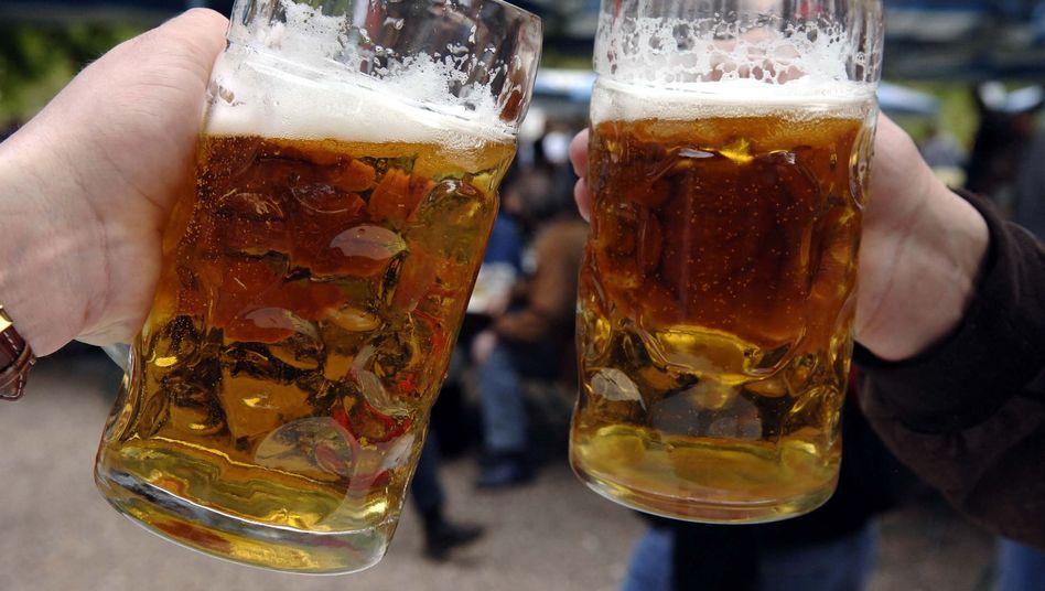 Bierdurst: Der Absatz von Bier nimmt von Jahr zu Jahr ab