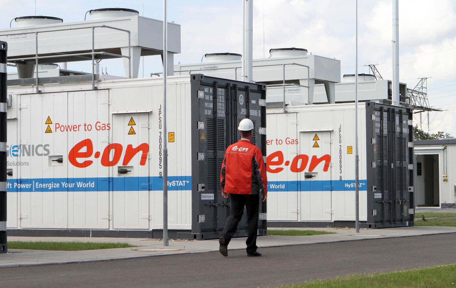 Alternativen zu Erdgas/ Power-to-Gas-Anlage