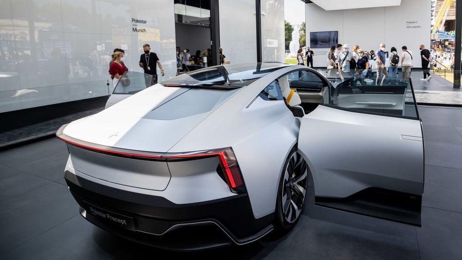 Polestar Precept: Das viertürige Konzeptauto von Polestar war im Jahr 2020 vorgestellt worden